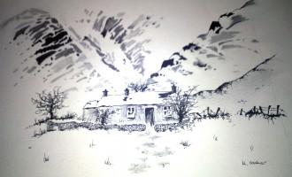 Snowy-Scene  (sold)